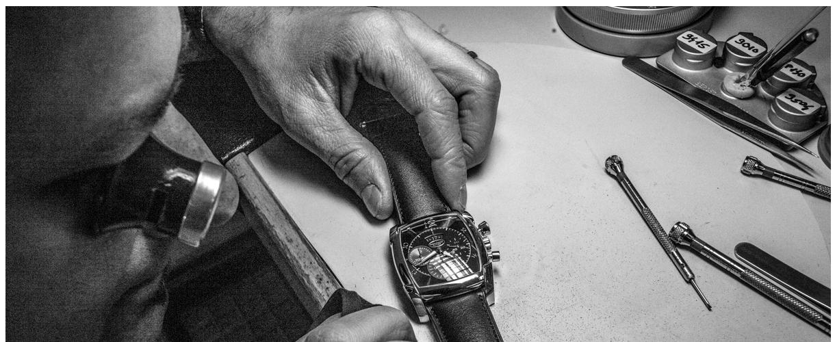 Laboratorio di orologeria a Milano